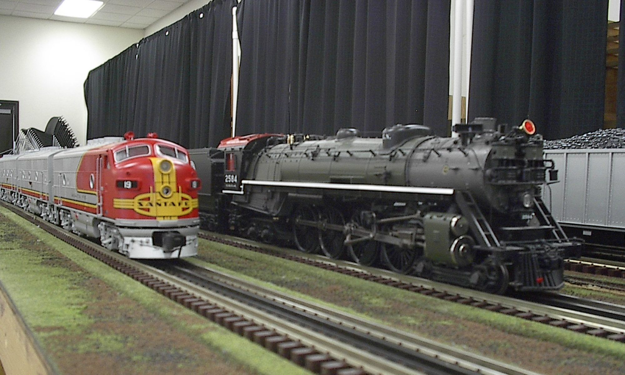 """N.e.w. """"O""""  Gaugers Railroad Club"""